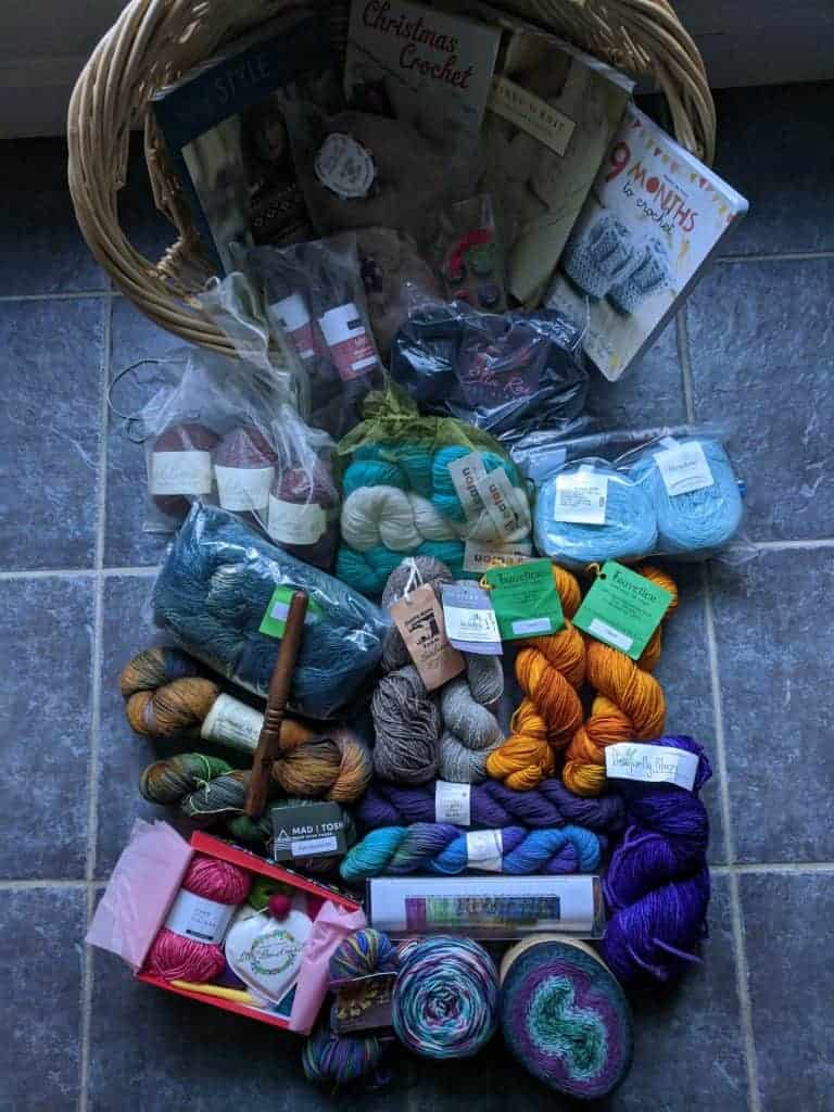 Knitting / Crochet Basket